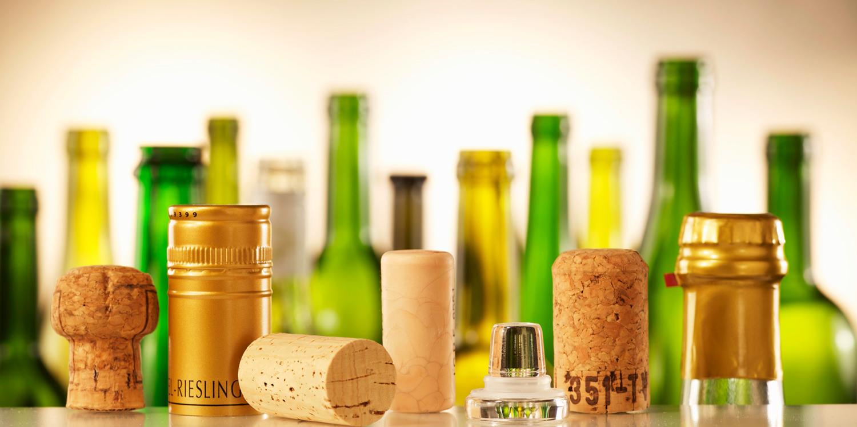 Verschlussvarianten für Weinflaschen