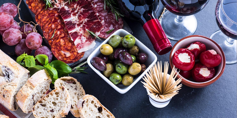 Verkostung – welche Snacks passen zum Wein?