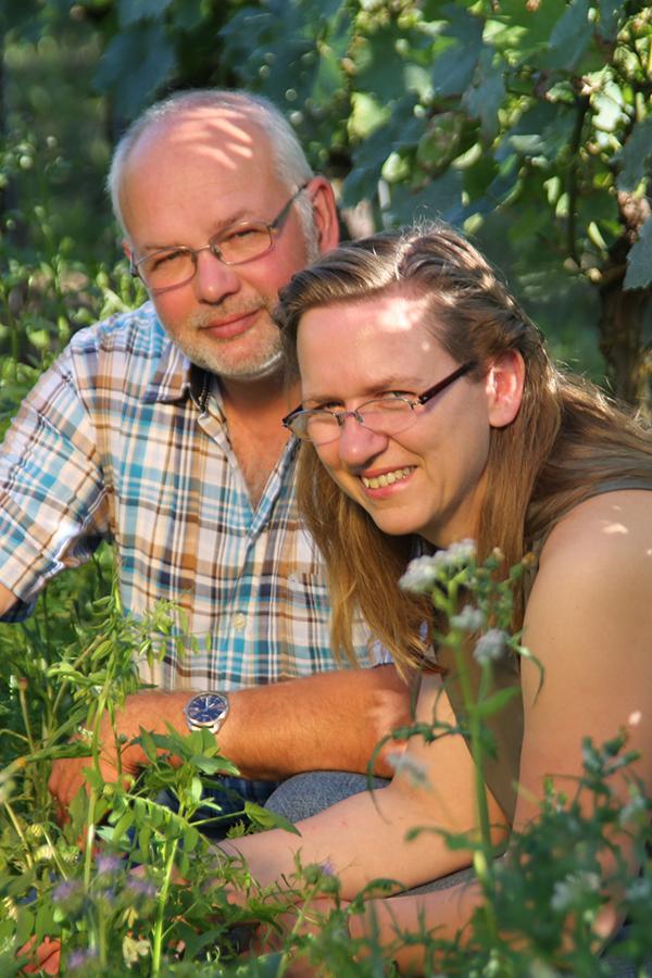 Glückwunsch zur Vizemeisterschaft: Uli und Elke Goldschmidt aus Rheinhessen kamen auf Platz 2.