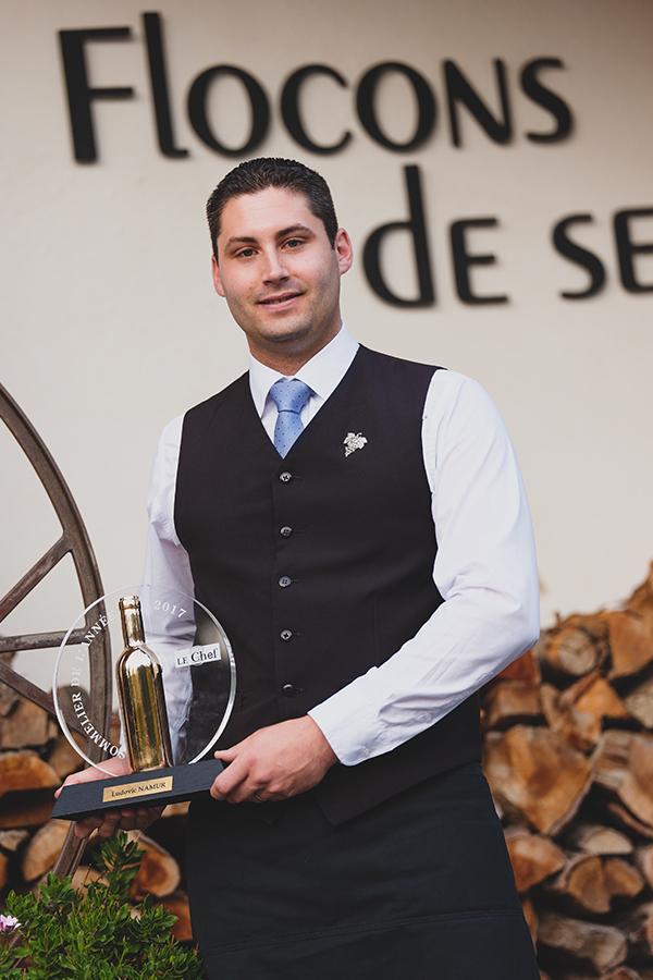 Ludovic Namur ist nun bester Sommelier Frankreichs