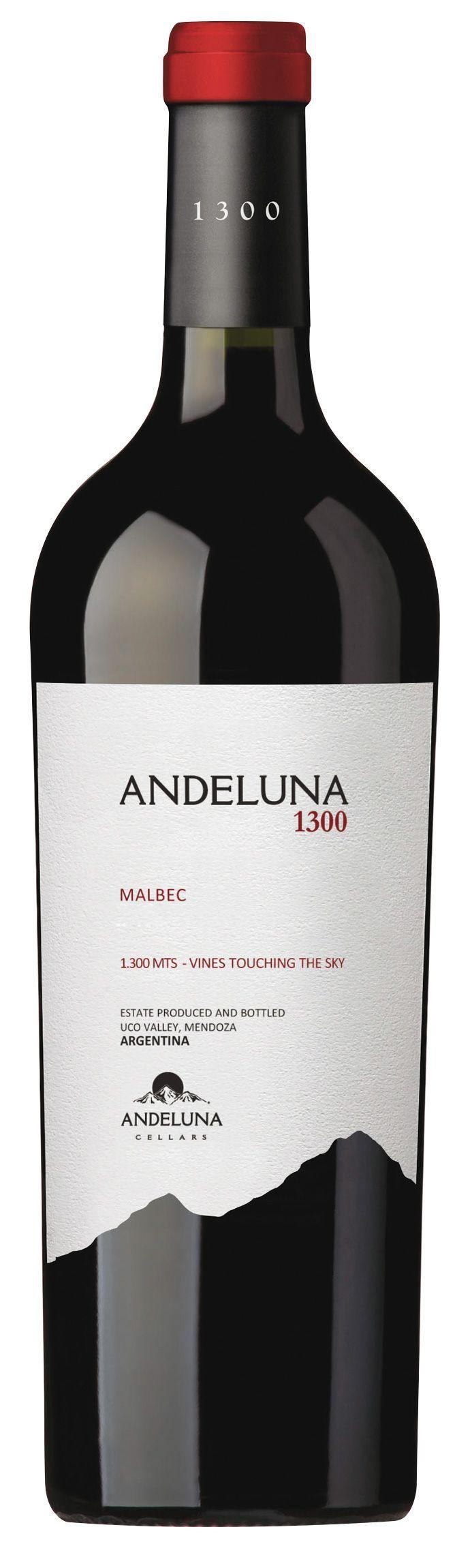 Image of Andeluna 1300 Malbec 2015