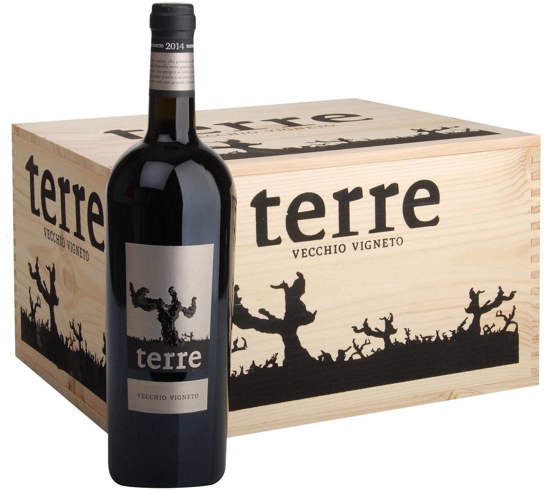Image of 6 Flaschen Terre di Campo Sasso TERRE Rosso Puglia 2014